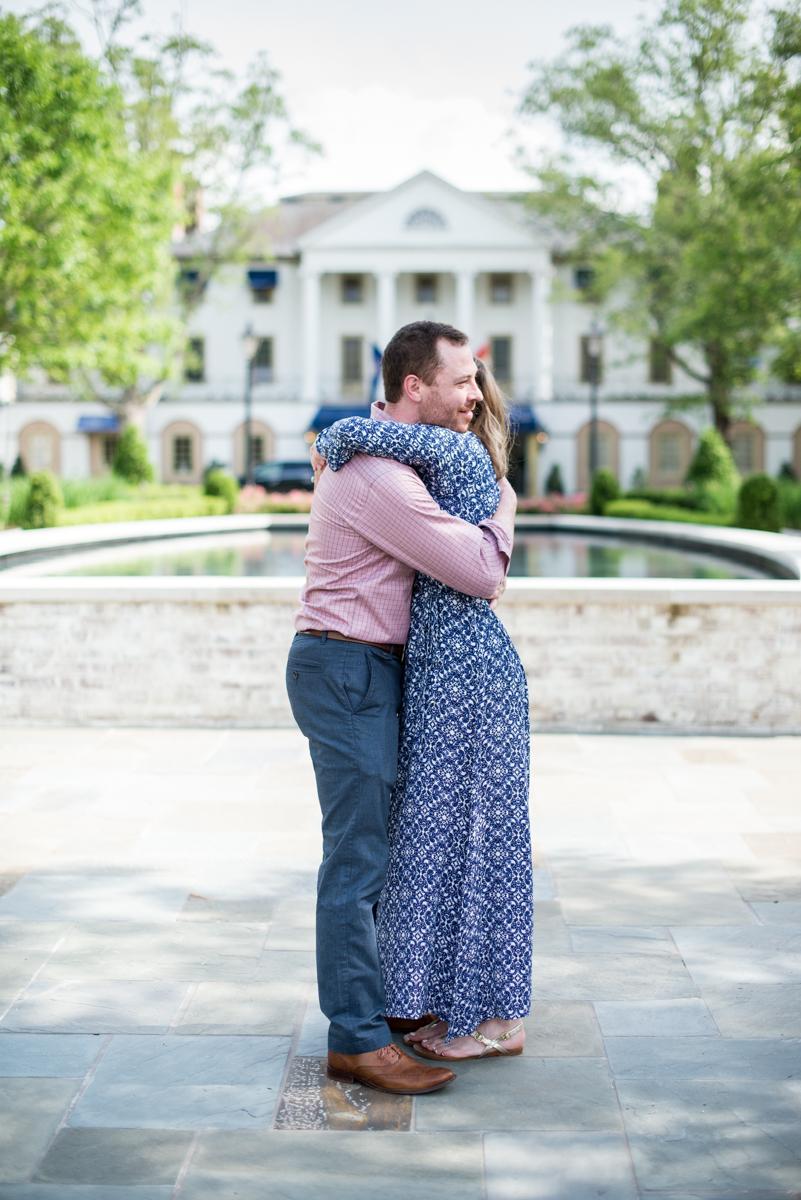 Williamsburg Inn Surprise Proposal