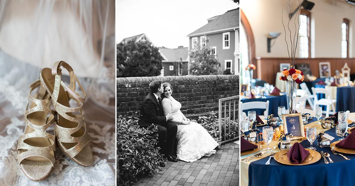 Yorktown Freight Shed Wedding