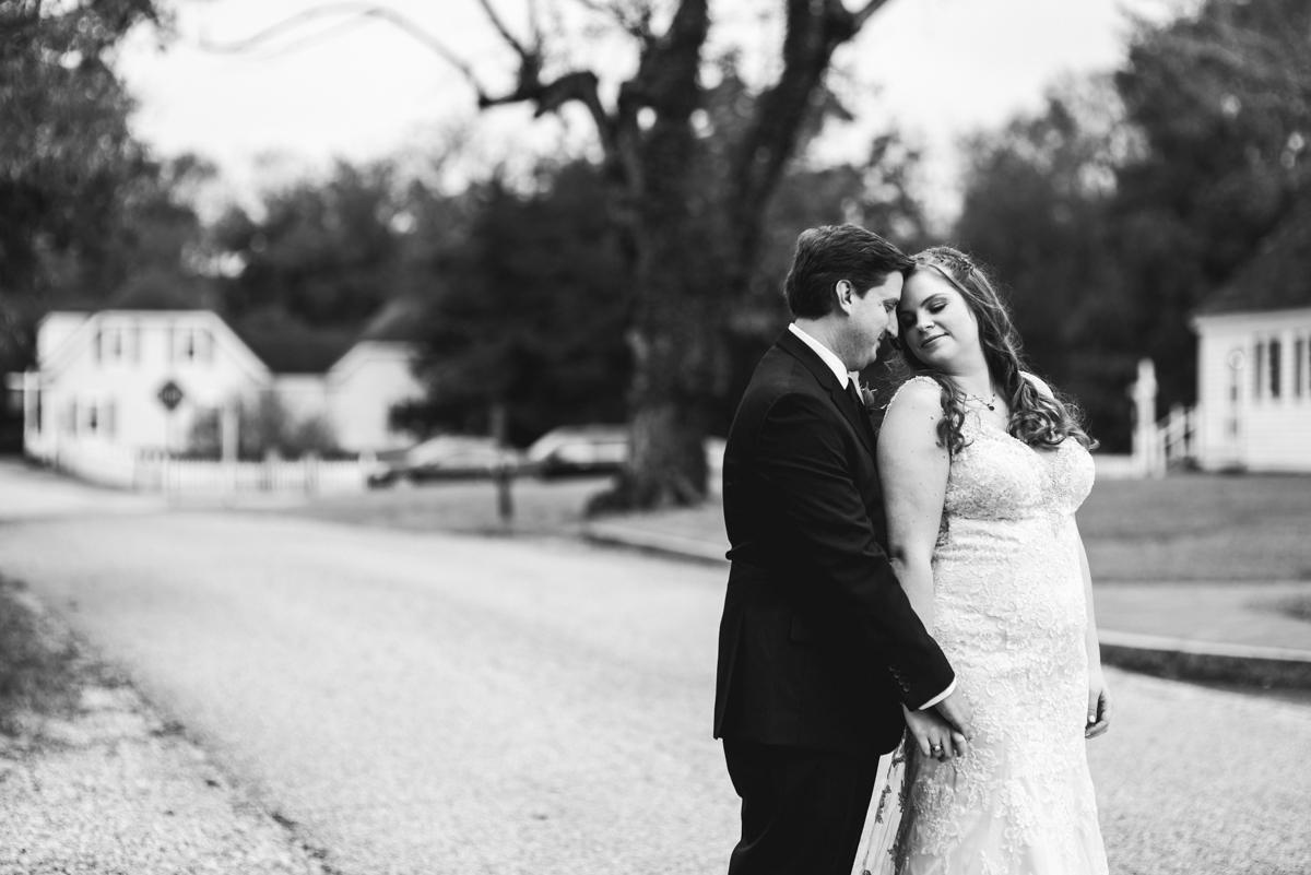 Gold, Blue, and Burgundy Fall Wedding | Bride and groom pictures