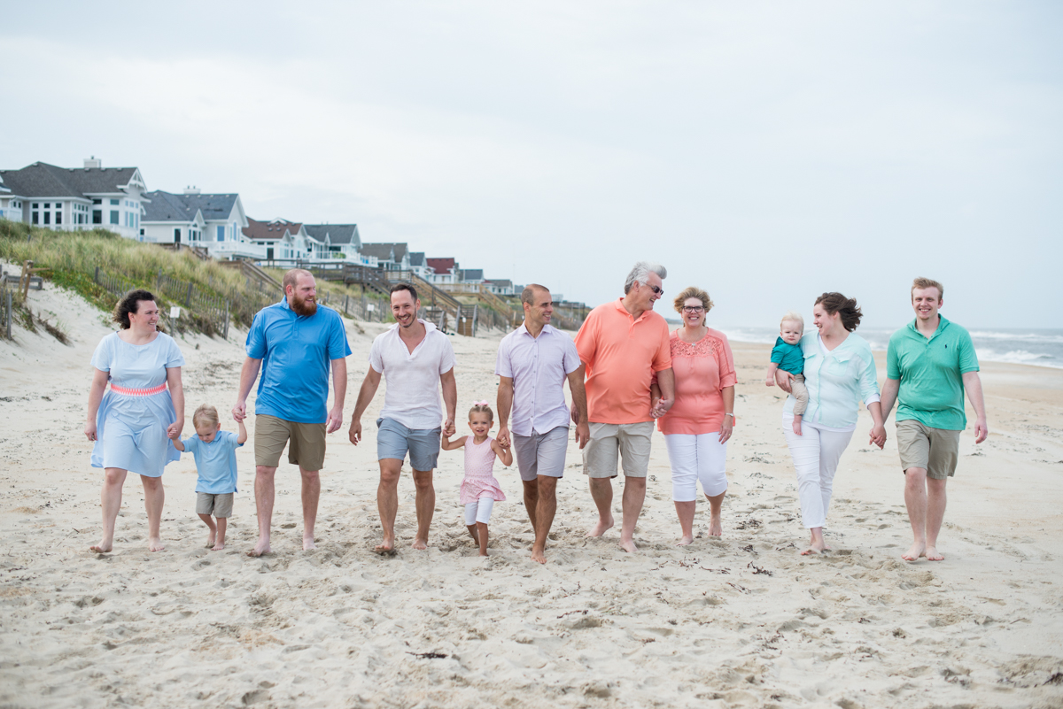 Beach Extended Family Pictures