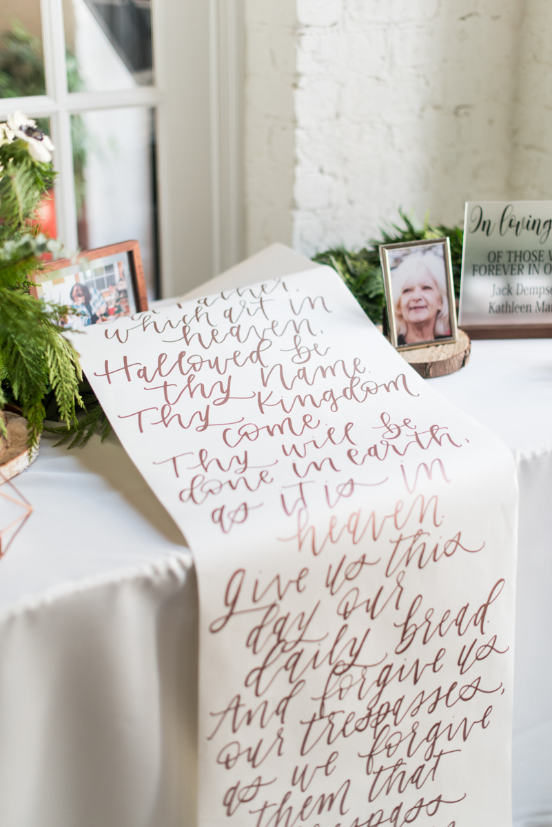 Vintage Winter Wedding with Red and Gray | Wedding Memories Scroll