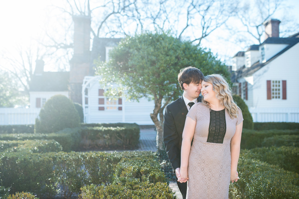 Black Tie Winter Anniversary Portraits
