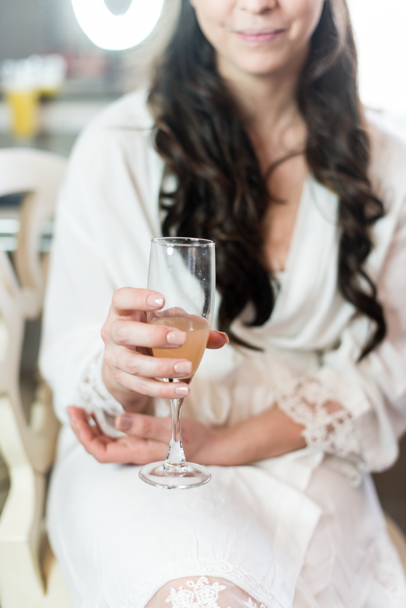 Gray and Blue Spring Wedding | Signature Wedding Drink