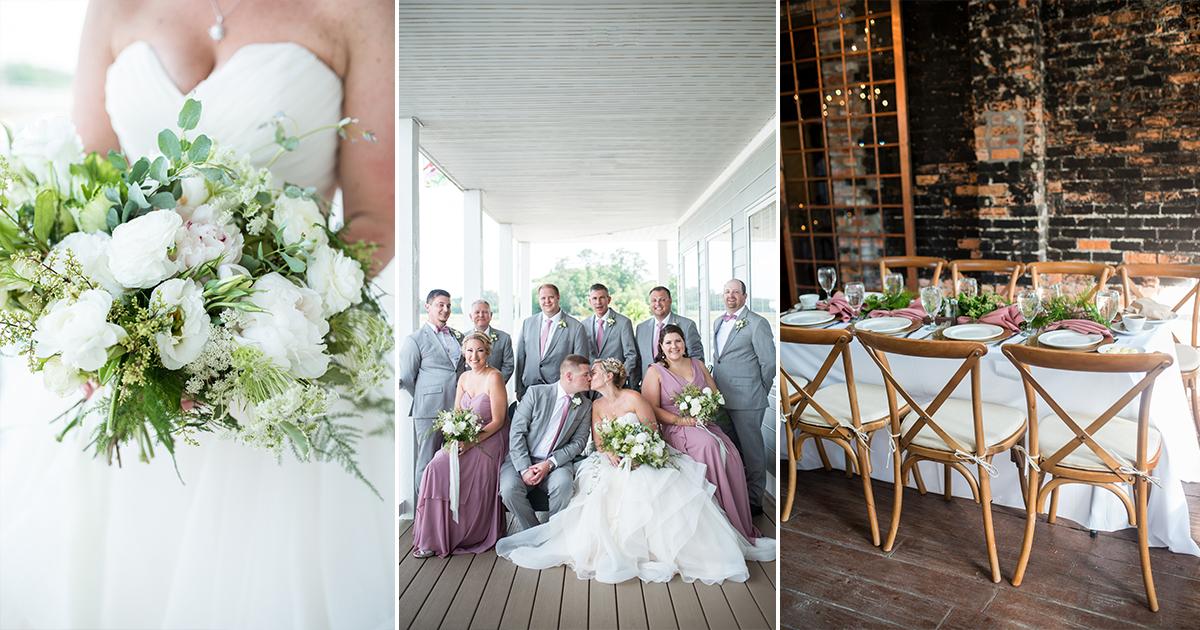 Elegant Summer Wedding in Smithfield, Virginia