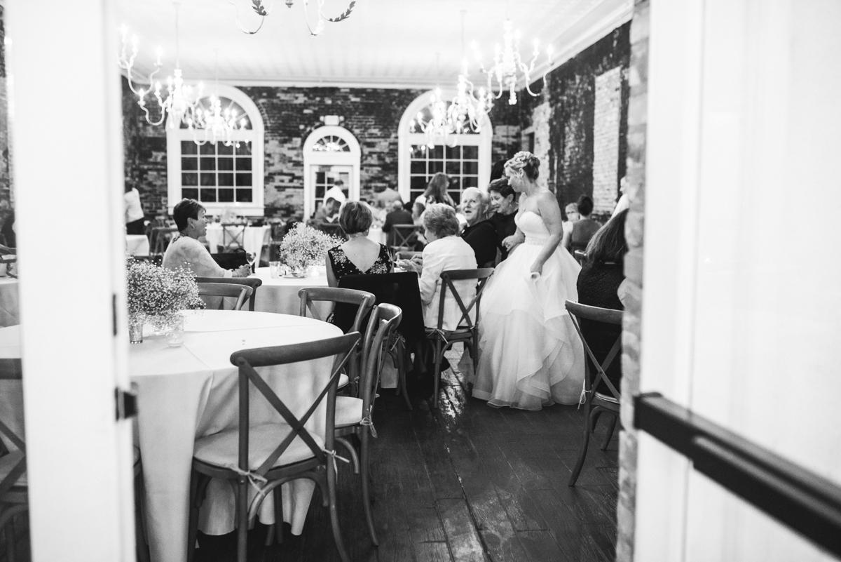 Elegant Summer Wedding in Smithfield, Virginia | Wedding reception