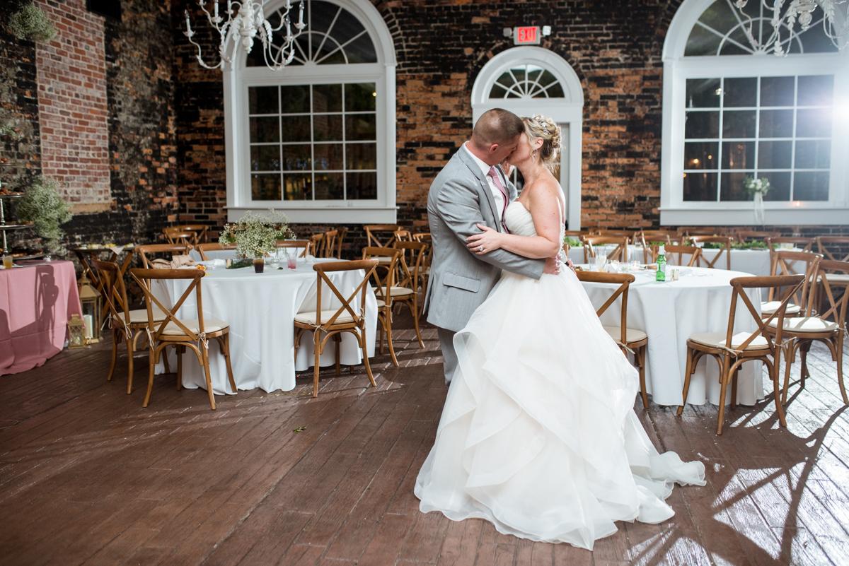 Elegant Summer Wedding in Smithfield, Virginia | Bride and groom last dance