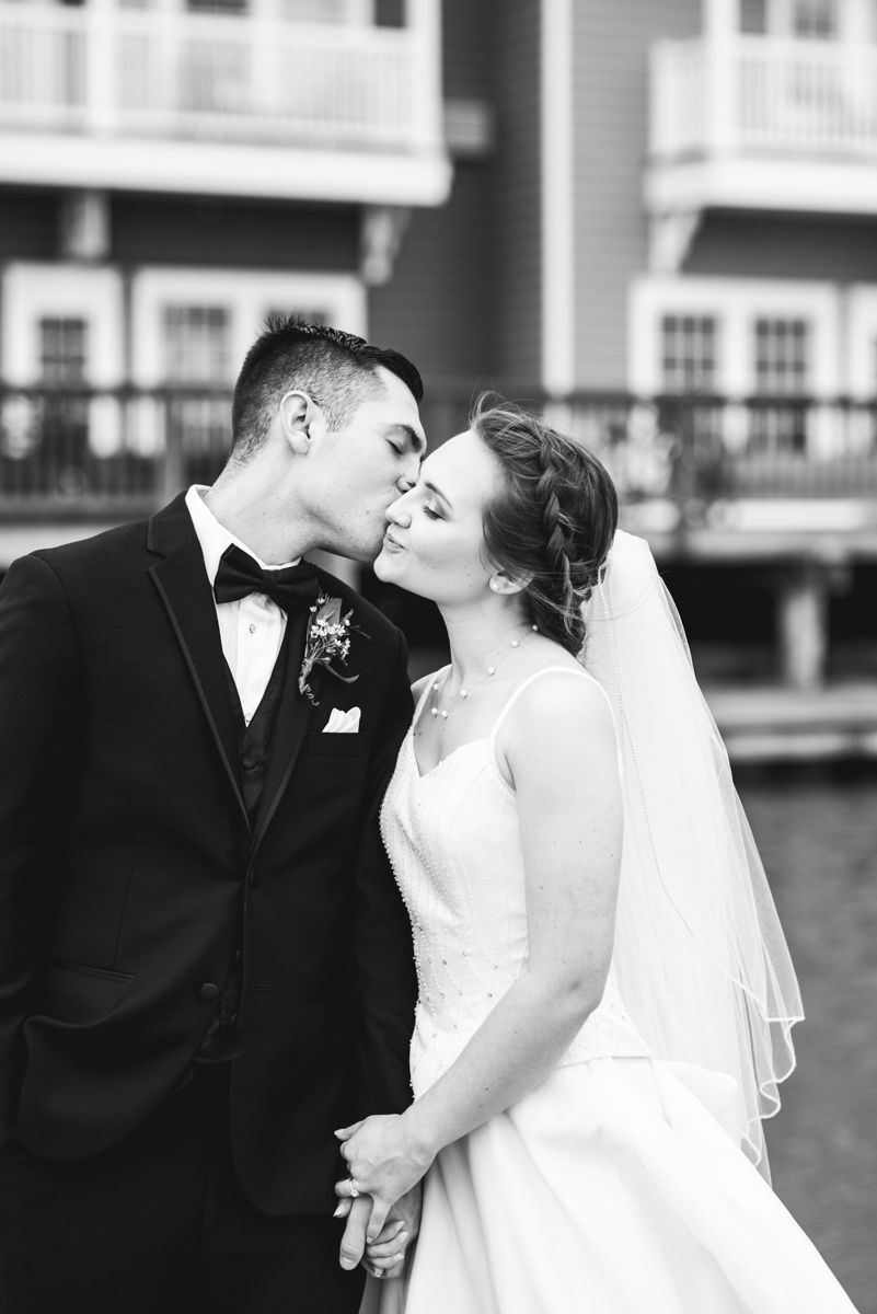 Intimate Summer Micro Wedding | Bride and groom portraits