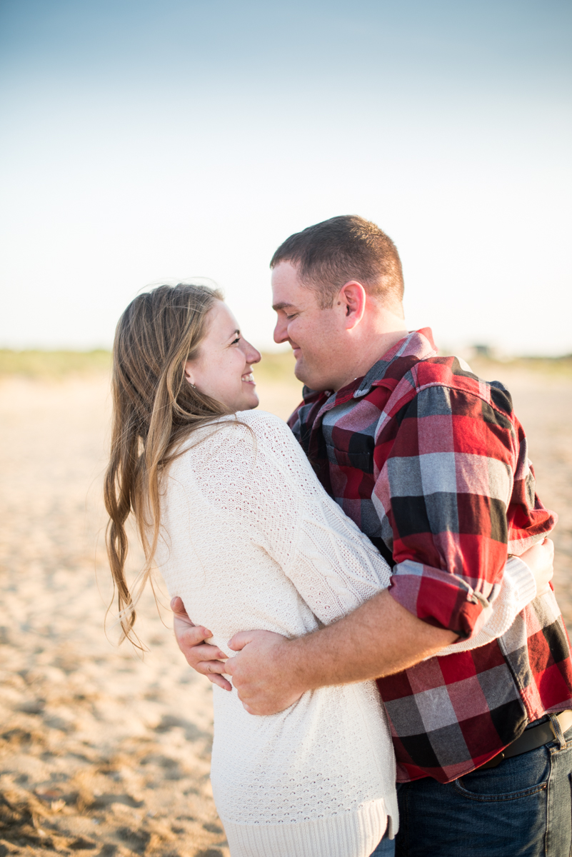Sunset Beach Engagement Pictures