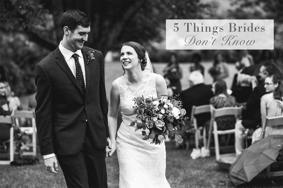 5 Things Brides Don't Know