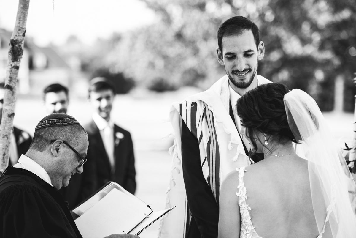 Jewish Summer Wedding in Williamsburg | Jewish wedding ceremony