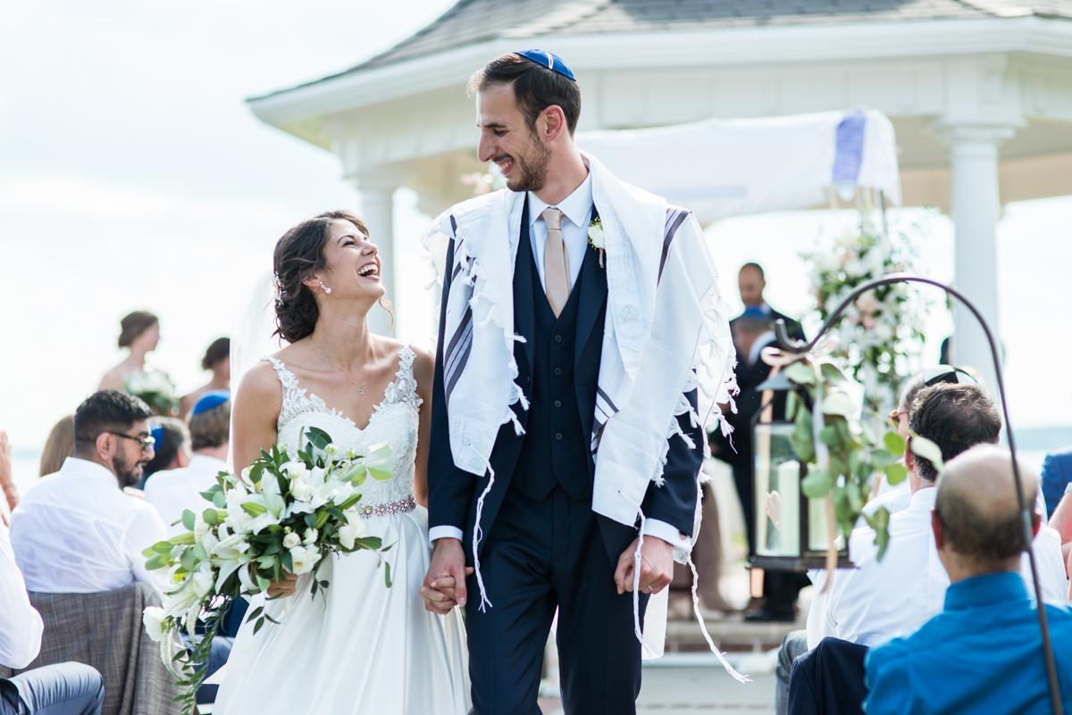 Jewish Summer Wedding in Williamsburg | Traditional Jewish wedding ceremony
