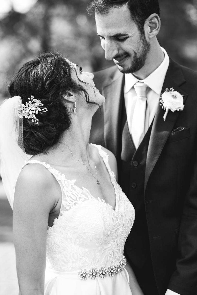 Jewish Summer Wedding in Williamsburg | Jewish bride and groom portraits