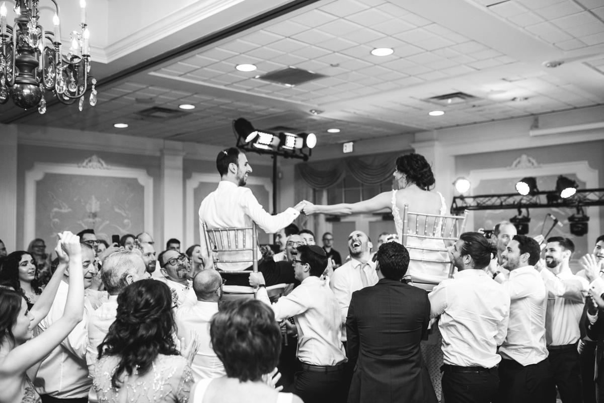 Jewish Summer Wedding in Williamsburg | Jewish hora