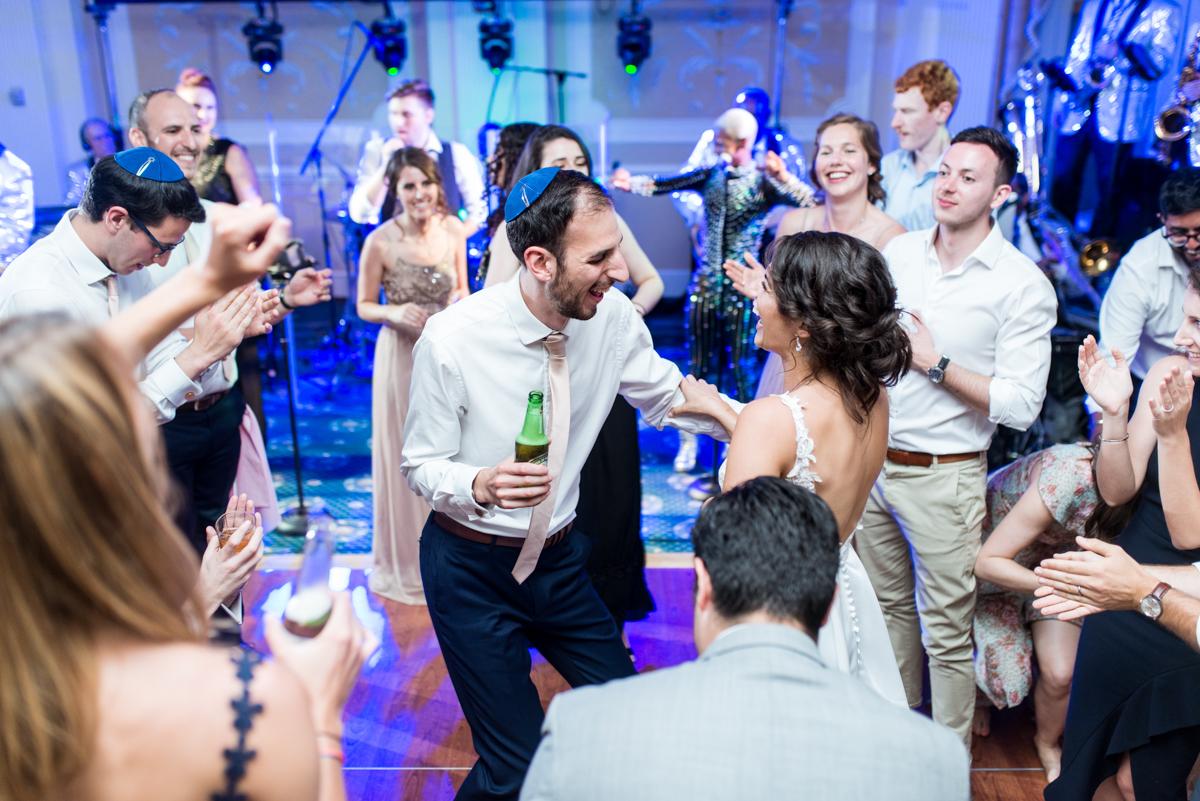 Jewish Summer Wedding in Williamsburg | Wedding reception dancing