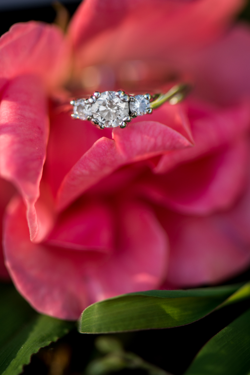 Flower Engagement Ring Picture