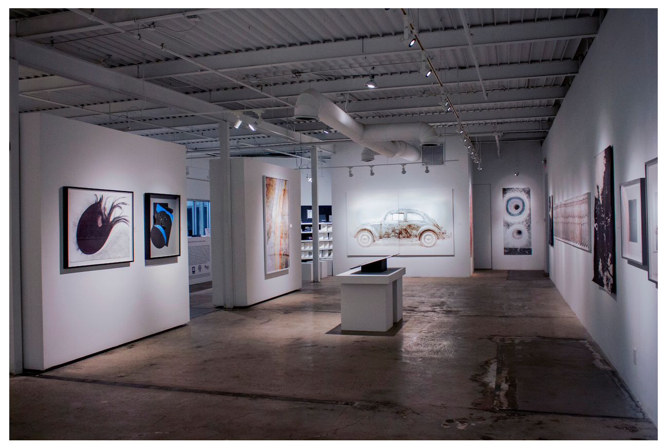 An installation shot from  Gathered III . (All images courtesy MOCA GA.)