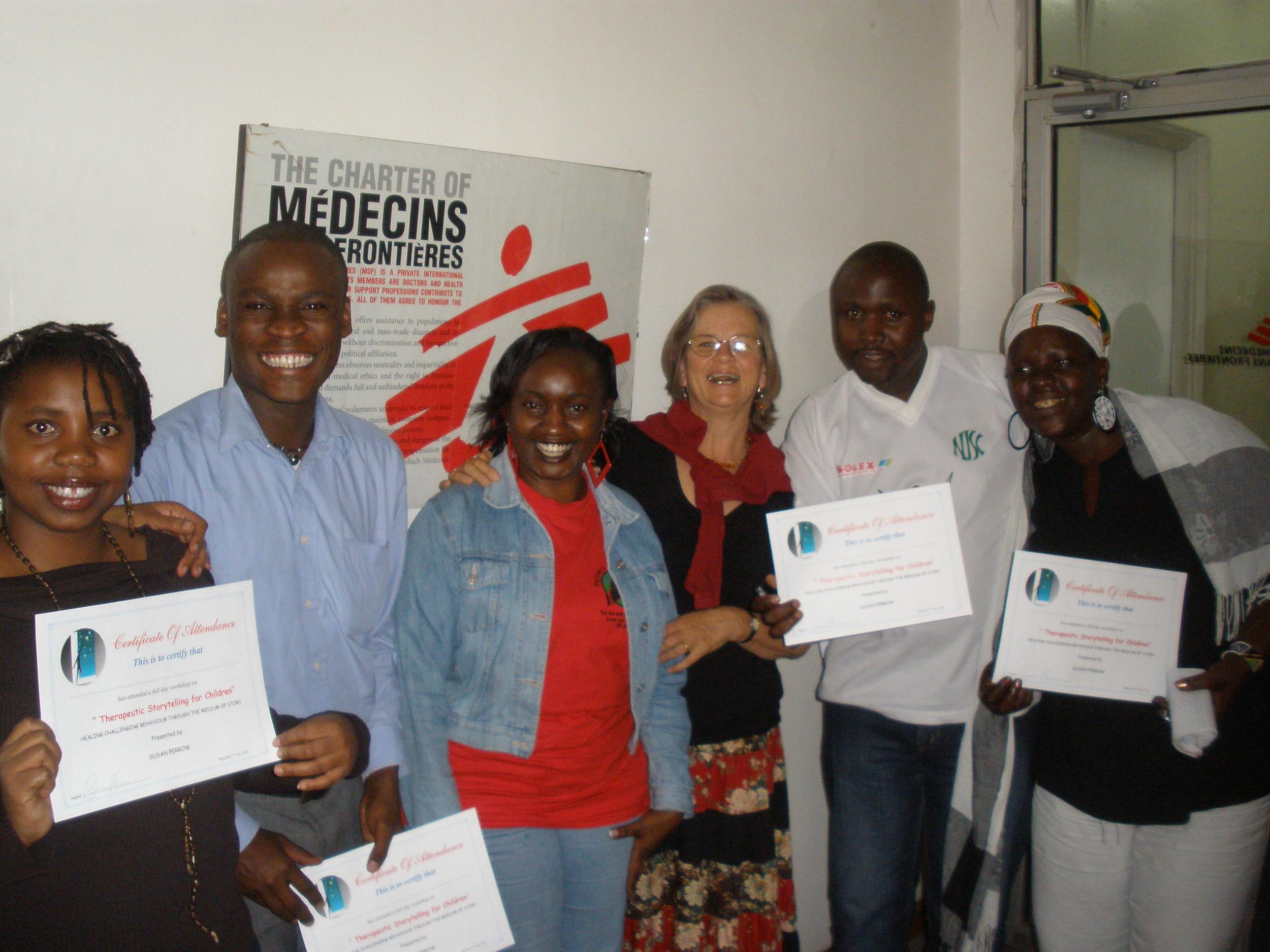 Medicin sans Frontier - Nairobi workshop - 2011