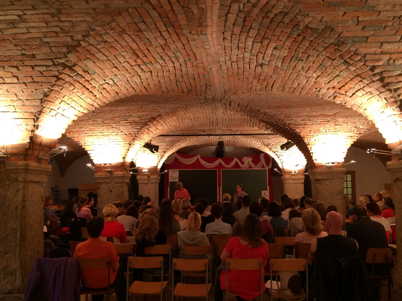 Therapeutic Story Seminar, Ljubjlana, Slovenia, May 2016