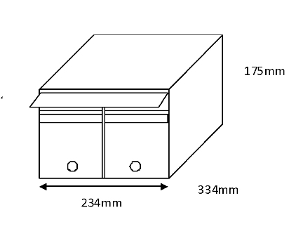 Mailsafe  MSF3 Compact (Locker)