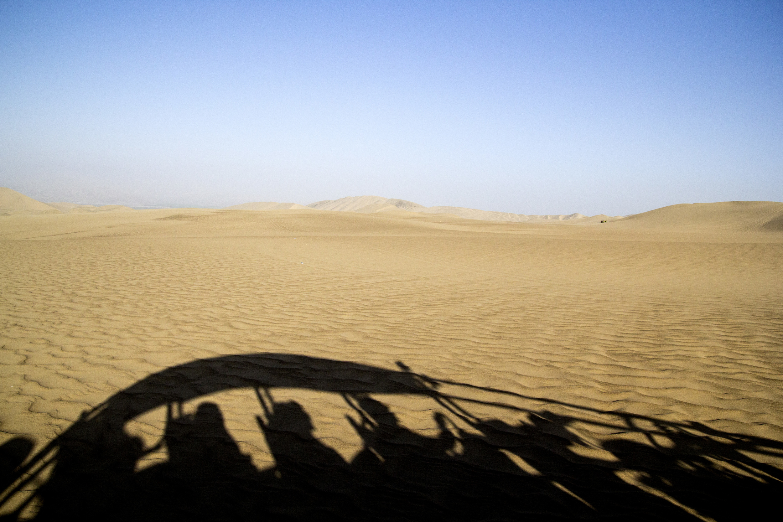 The sand dunes of Ica, Peru. I came here on a weekend trip with friends.