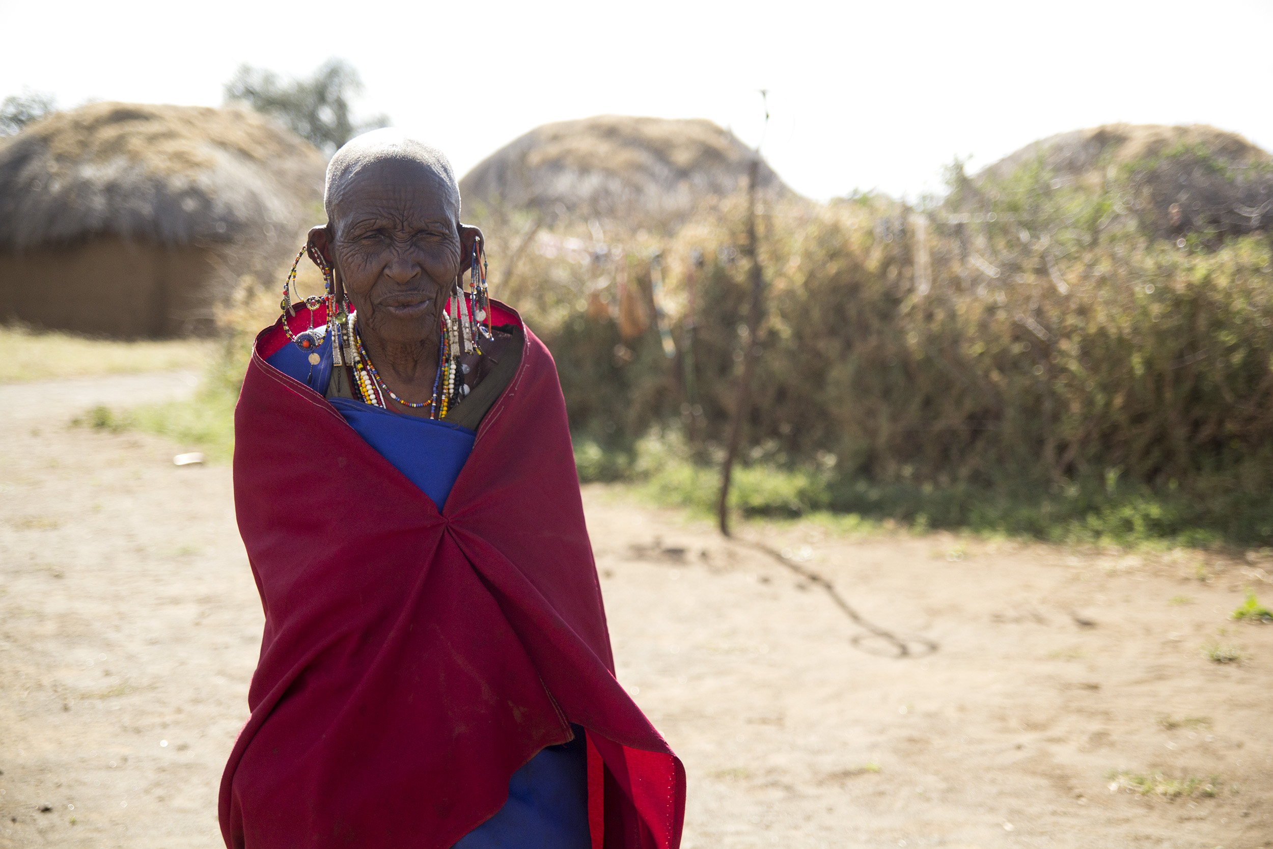This wonderful woman's name is Koko (which means Grandma in Maasai). She made us the most delicious tea I've ever had in my life.