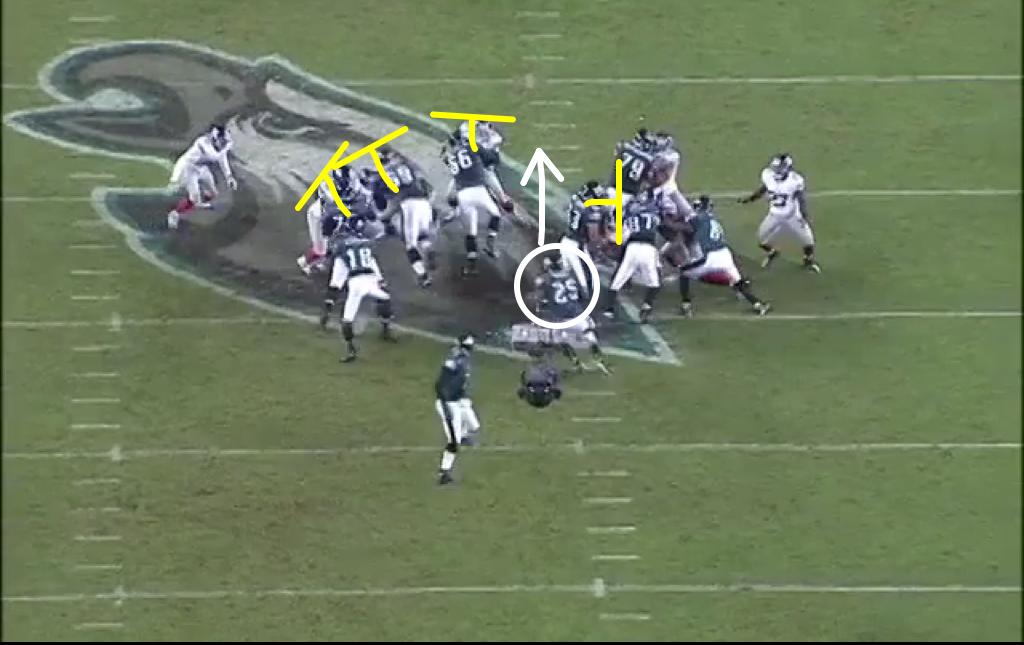 Even Dallas Reynolds got great push here.