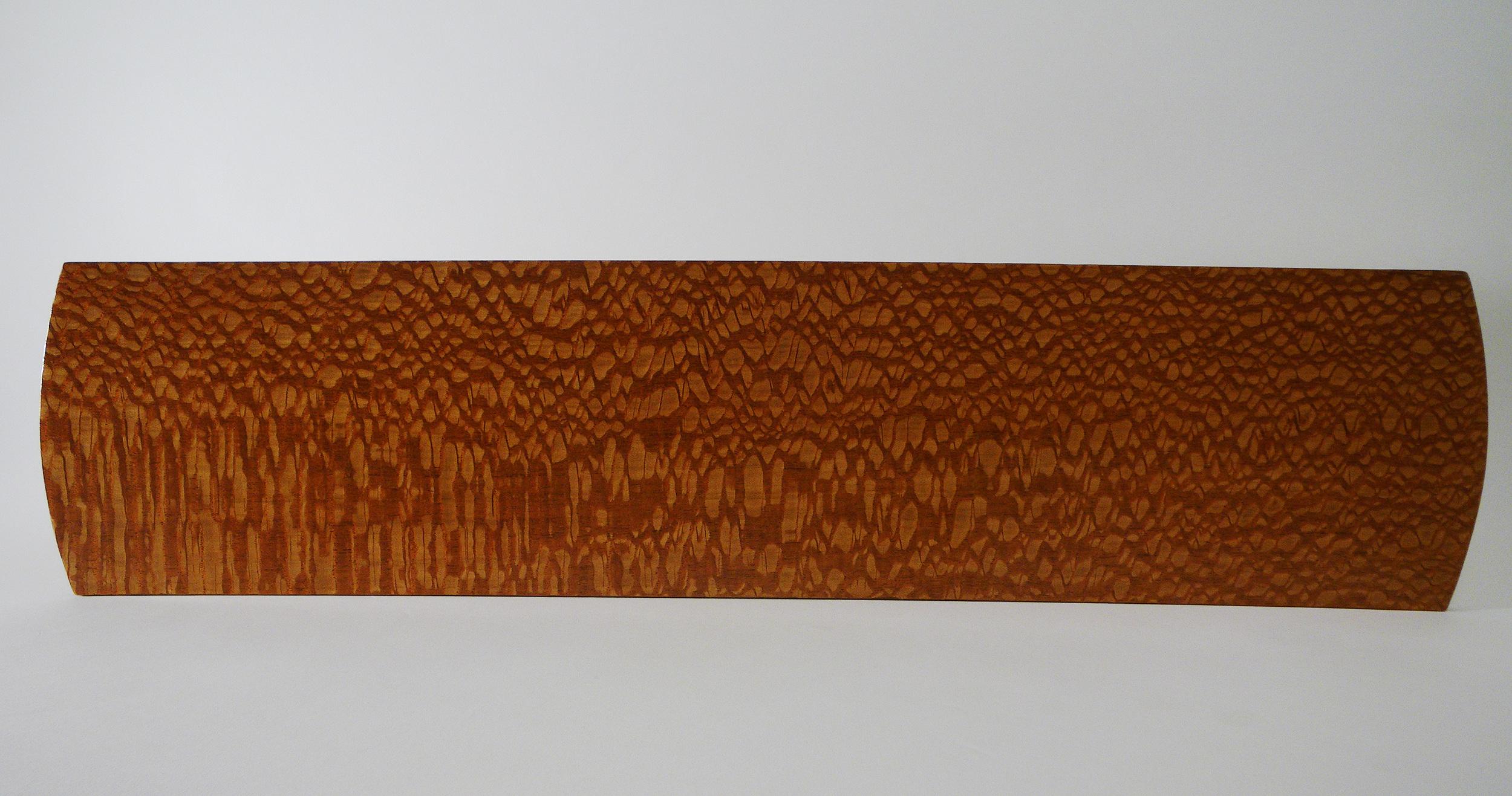 """Gorgeous Austrailian Lacewood platter, 7"""" x 23"""""""