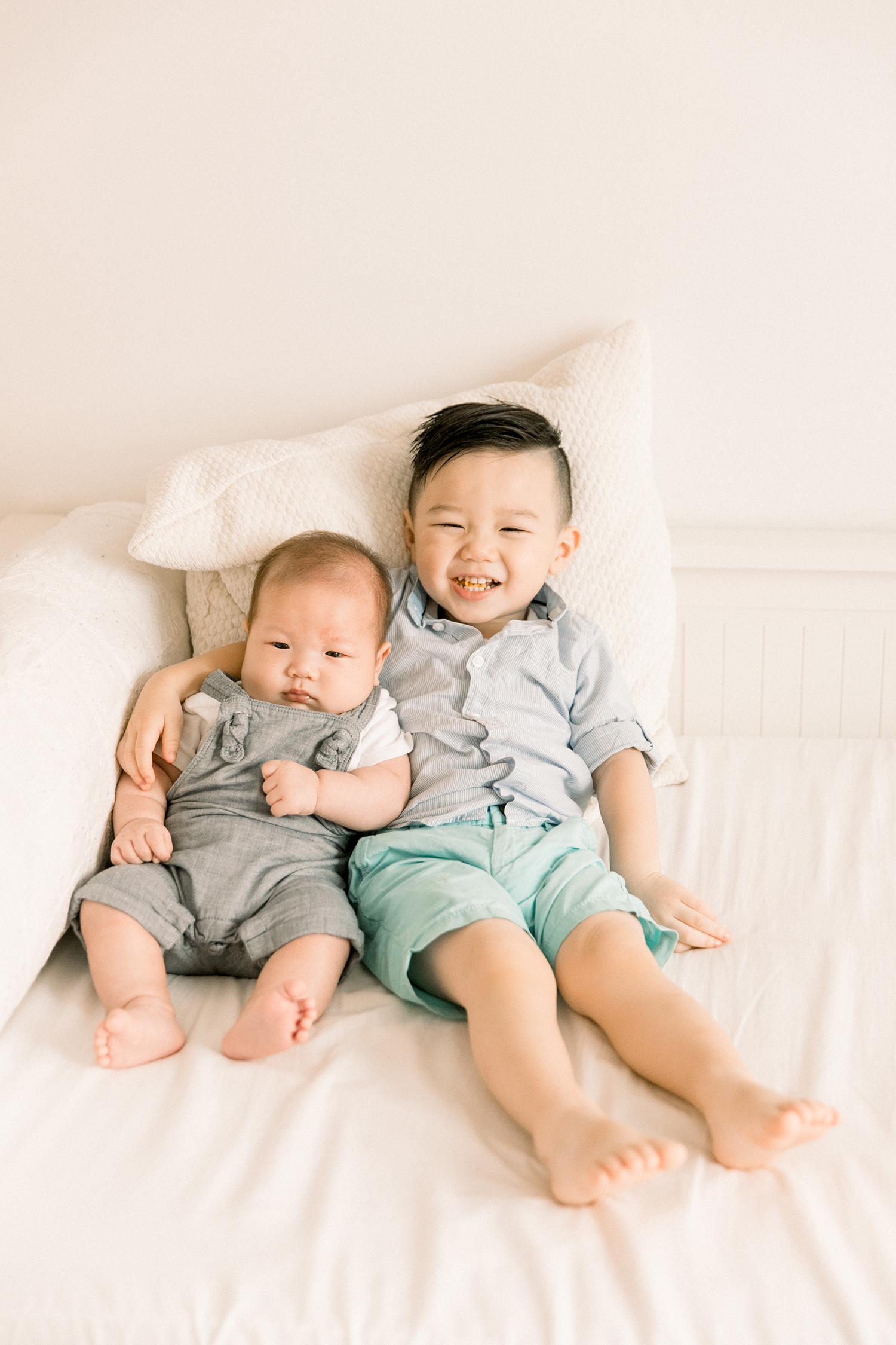 Classy newborn photos