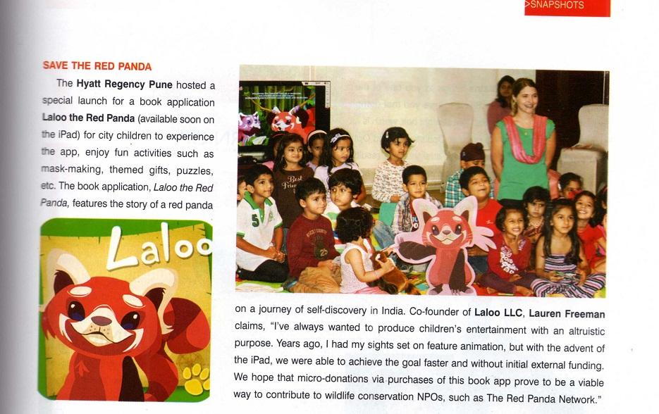 Citadel Magazine (Pune, India), October 12 2012, page 71