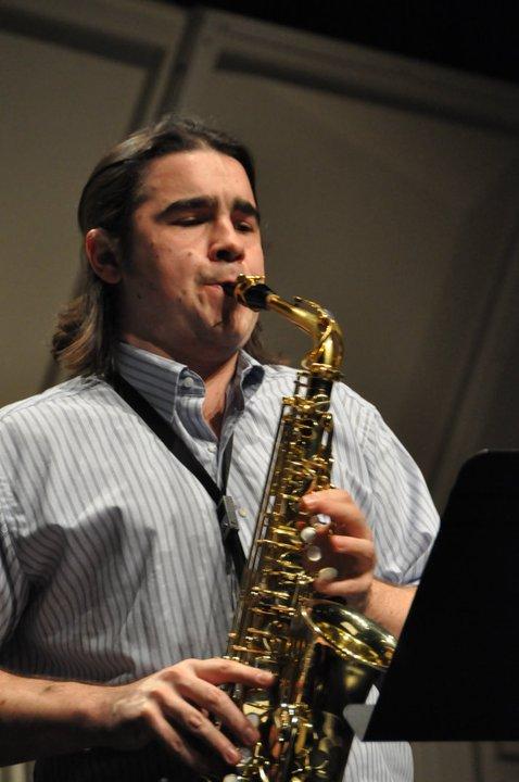 Performing in Dinant, Belgium