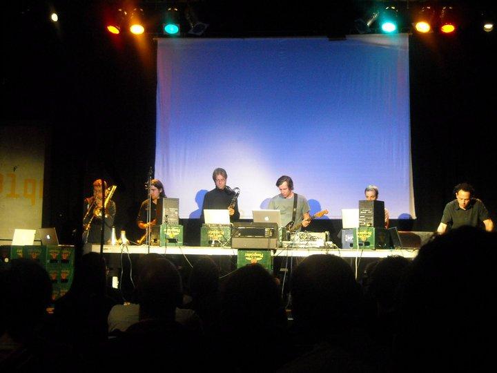 Performing in Darmstadt, Germany