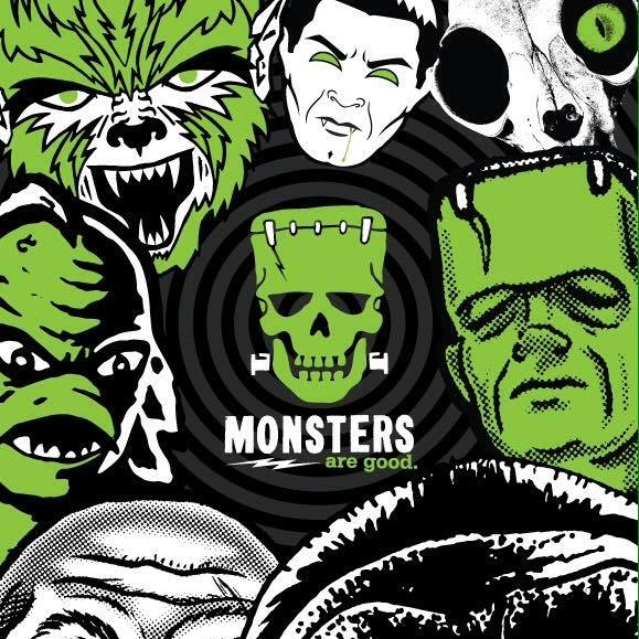 Monsters are good - shirts and apparel