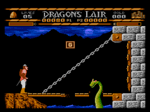 Dragon's Lair on the NES- a gaming atrocity!