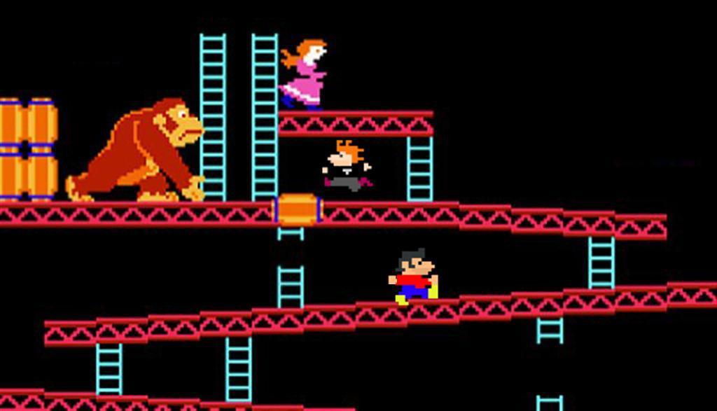 Donkey Kong Deadpixels style