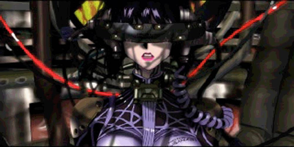 Ghost in the Shell shows a dystopian future where technology has run rampant and what it means to be human is challenged. The Matrix considers the same thing as does pretty much a lot of sci-fi!