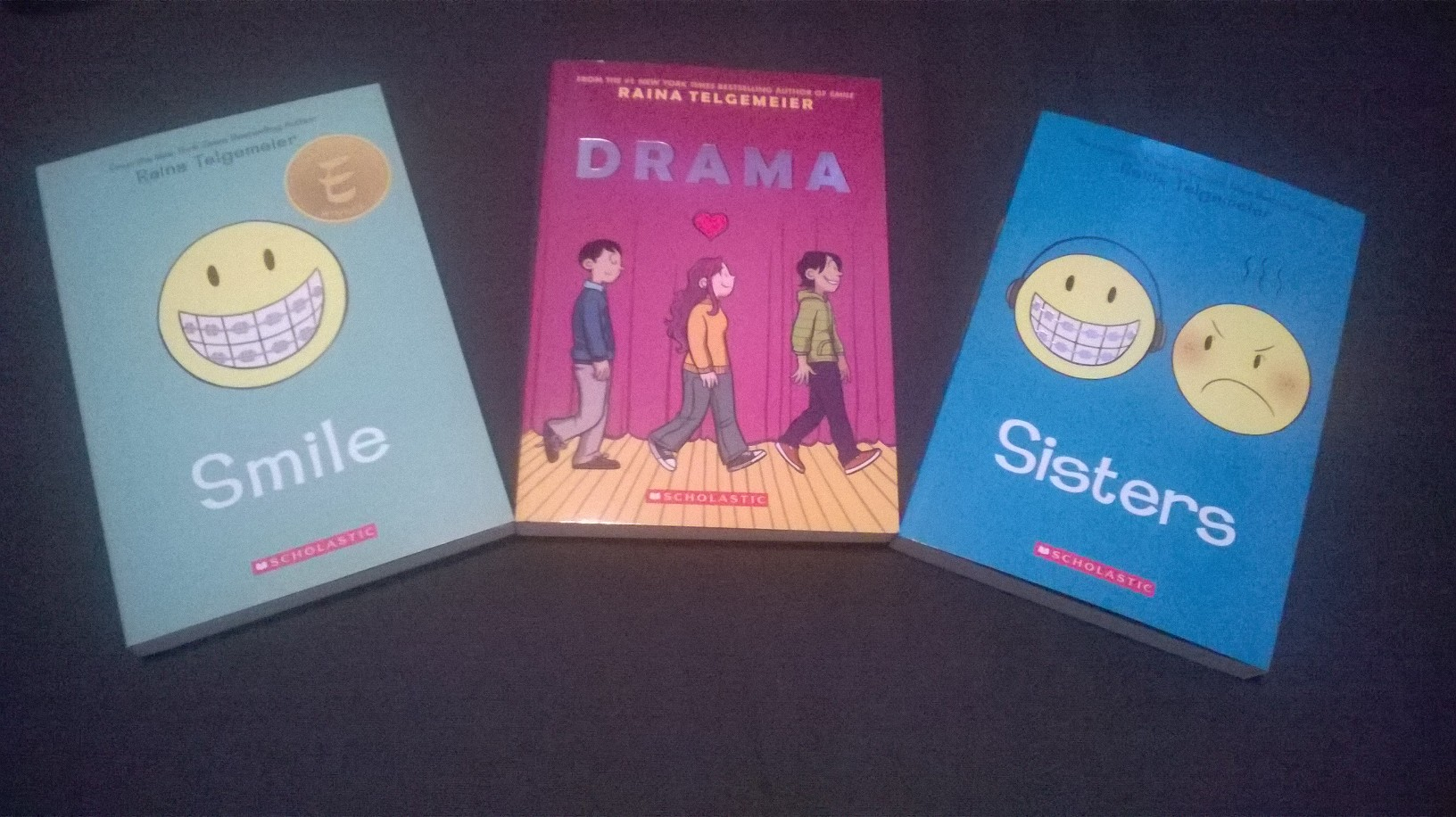 Raina Telgemeier has written a wonderful series of comics which are aimed at girls. I love them too though!