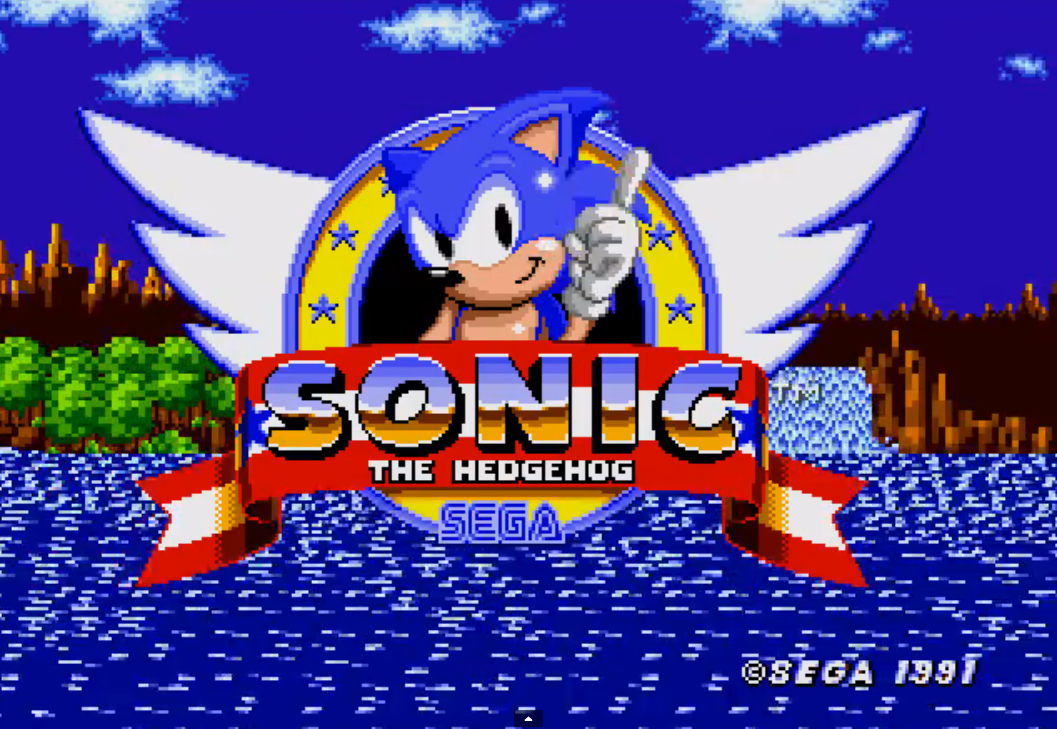 Sonic the Hedgehog Megadrive Genesis