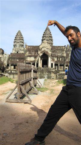 On point in Angkor