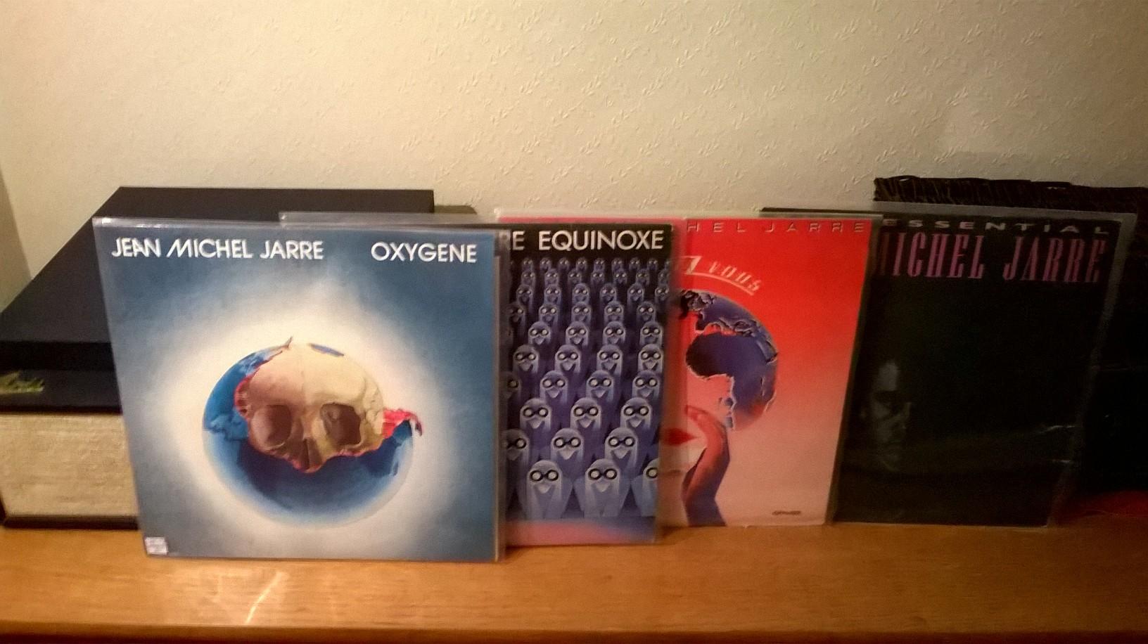 Jean Michel Jarre Records