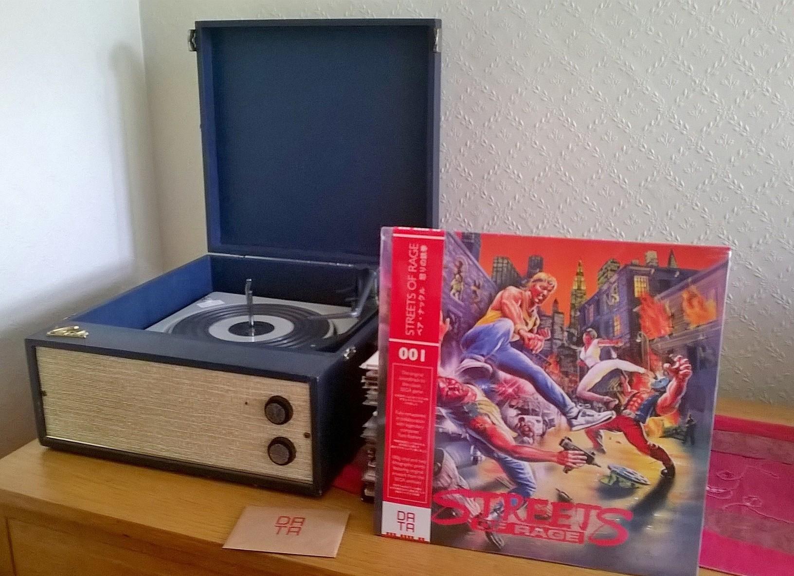 Streets of Rage Soundtrack Vinyl