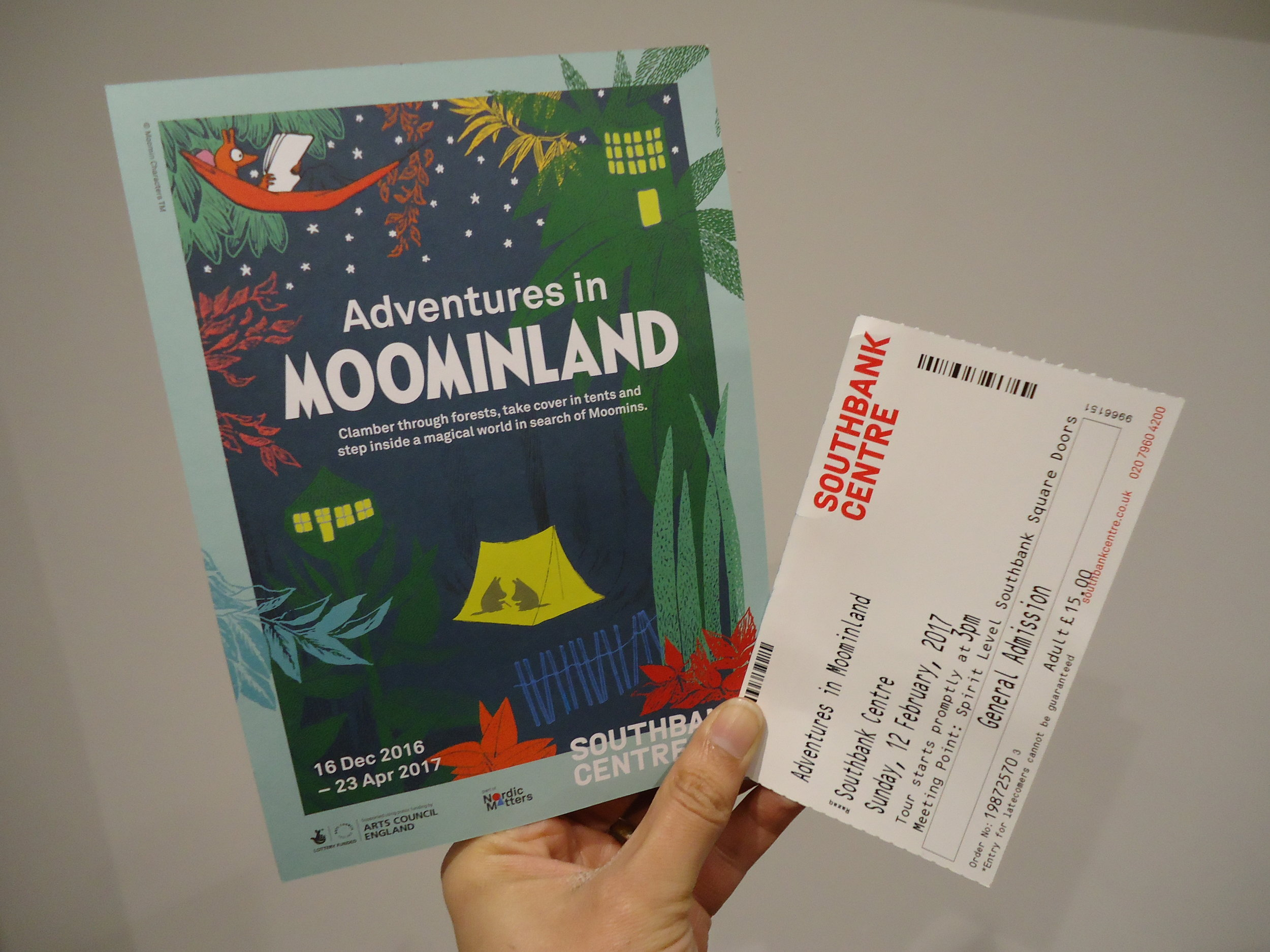 Moomin Exhibition @SouthbankCentre