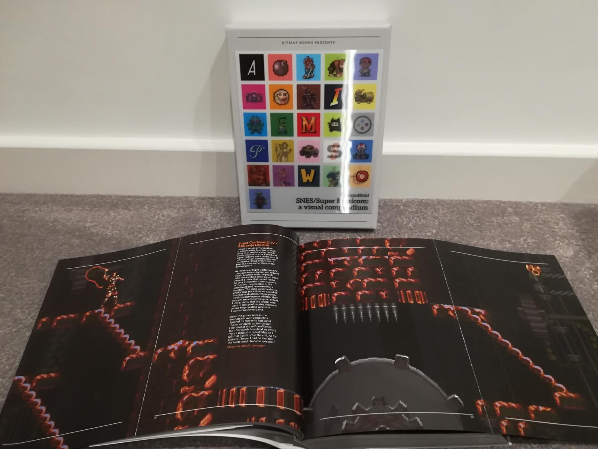 The Unofficial SNES/ Super Nintendo Visual Compendium