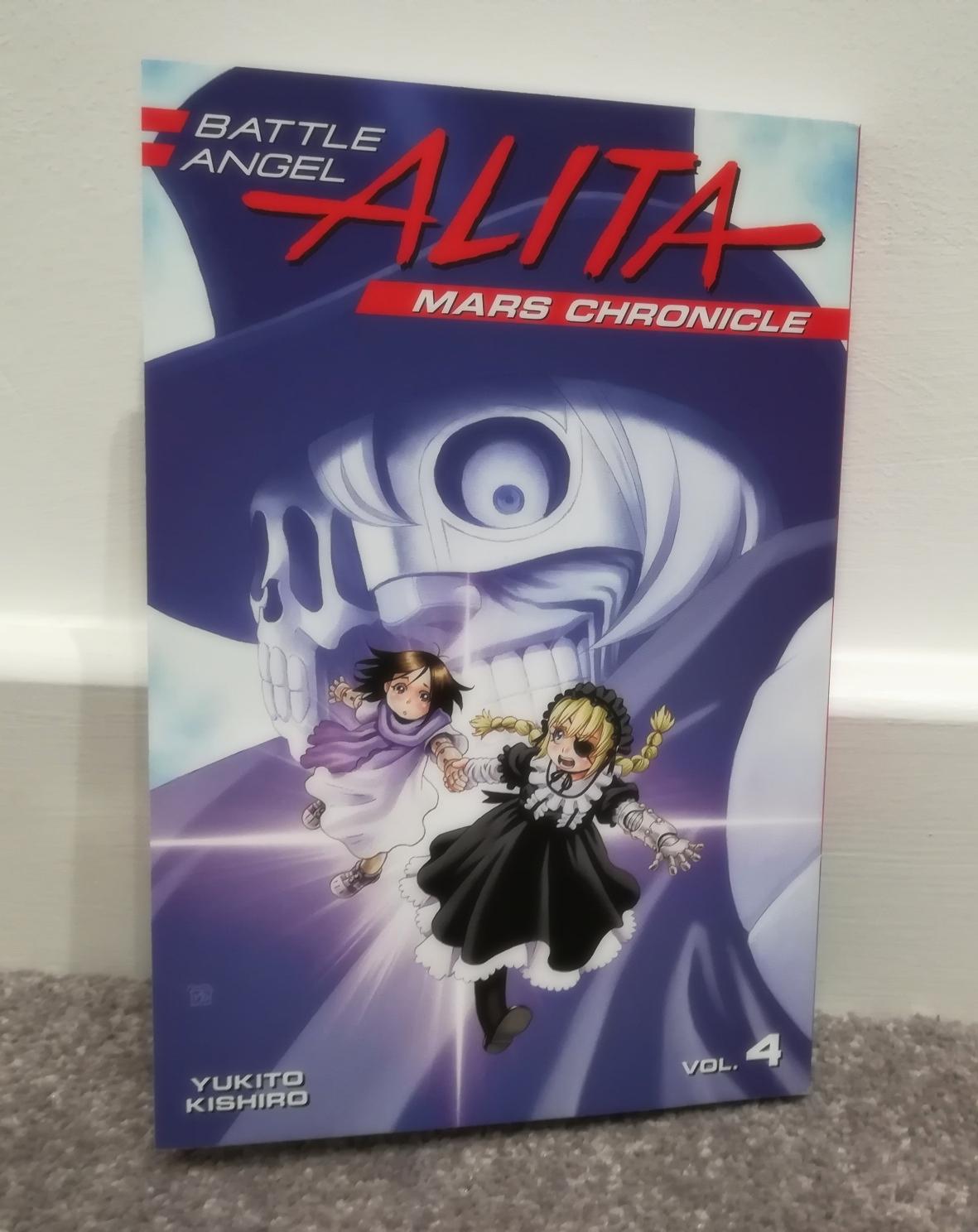 Battle Angel Alita: Mars Chronicle Vol. 4