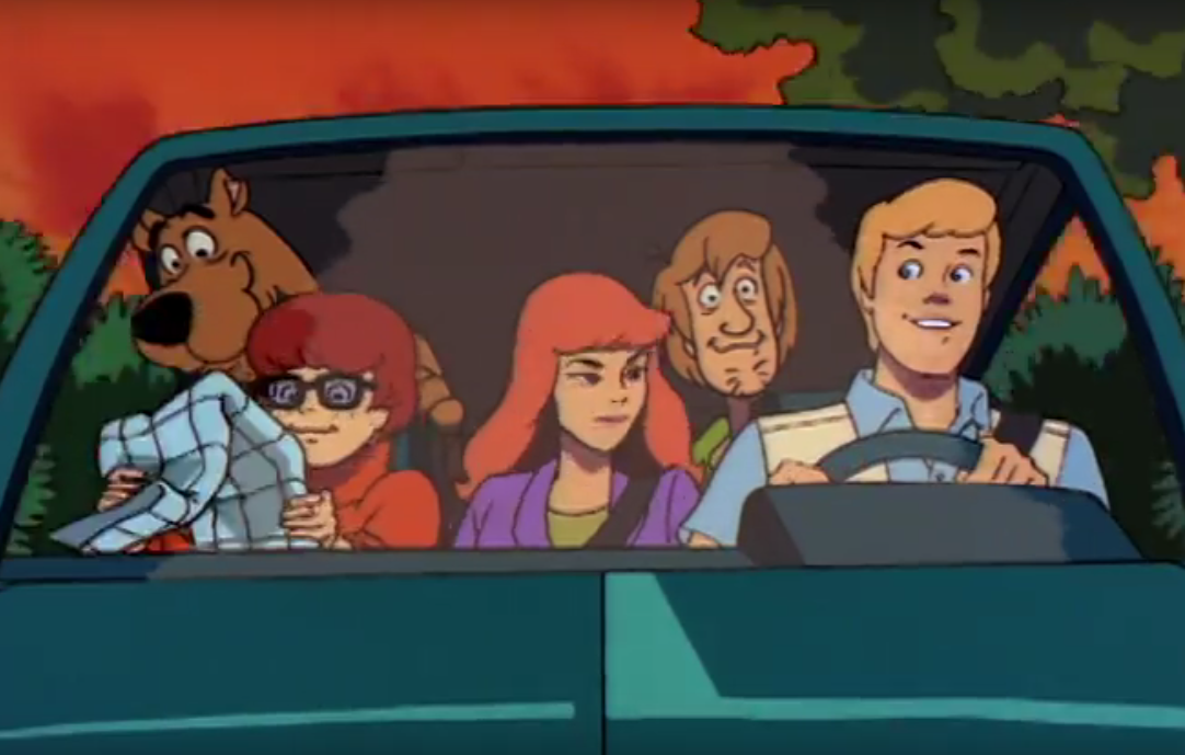 Scooby Doo on Zombie Island ©Warner Bros. Animation