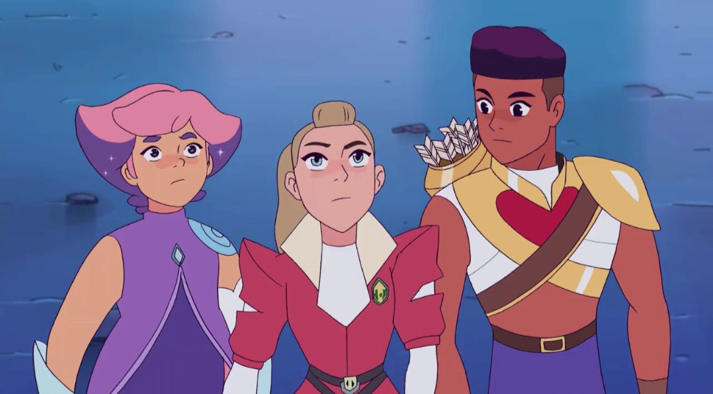 The character redesigns have led to many online discussions, unfortunately not all have been healthy. She-Ra and the Princesses of Power ©Netflix, NBC