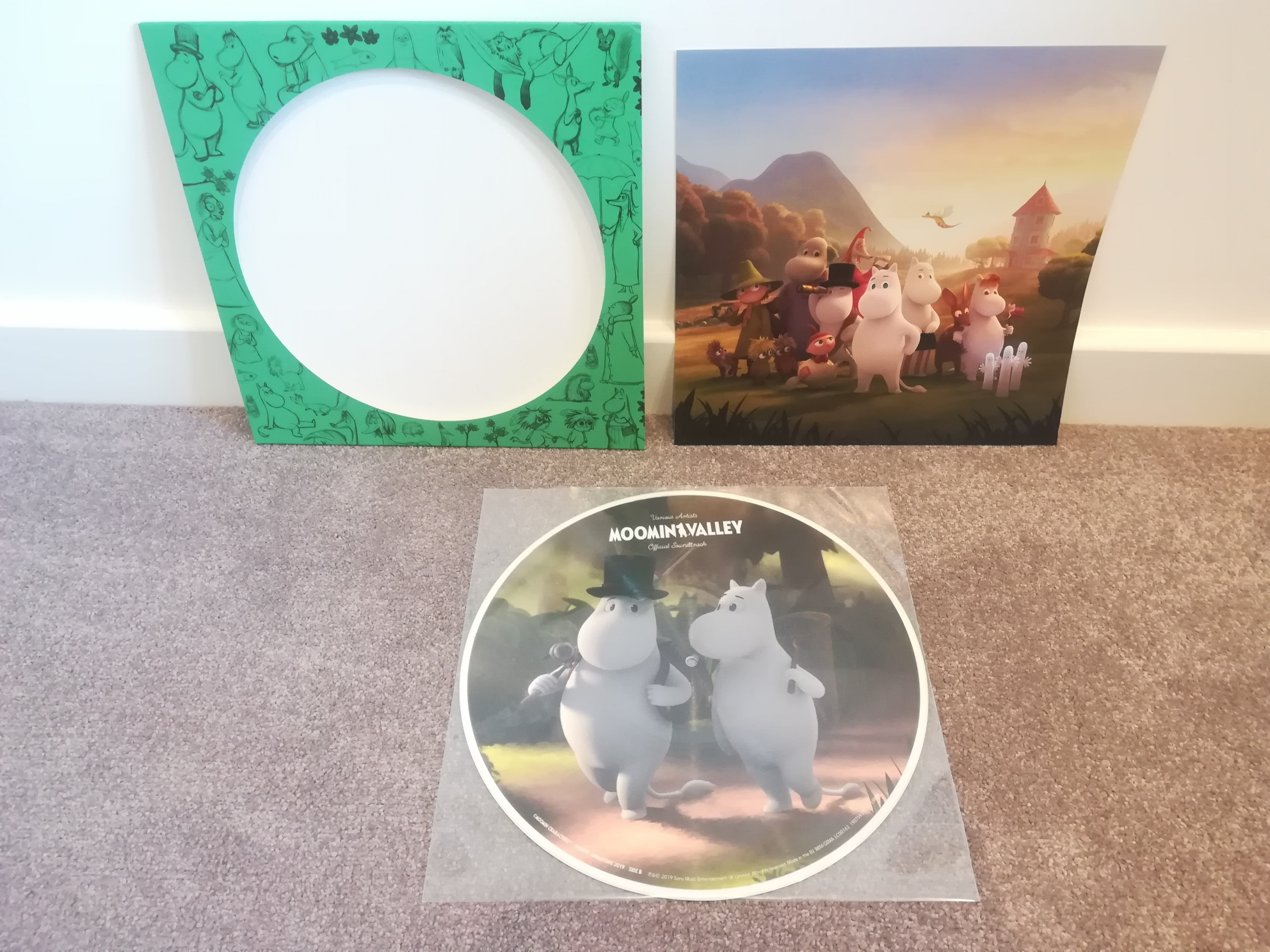 Moominvalley Soundtrack on Vinyl
