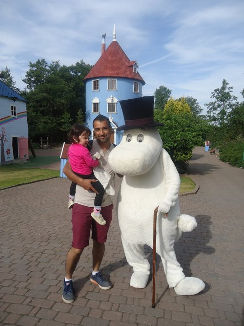 Moomin World was a great place to visit.