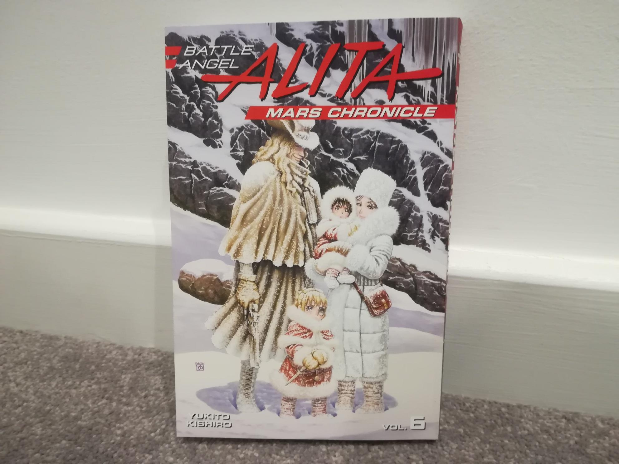 Battle Angel Alita: Mars Chronicle Vol. 6