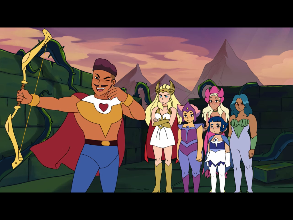 She-Ra and the Princesses of Power ©DreamWorks Animation Television, Mattel Creations, NE4U (animation)