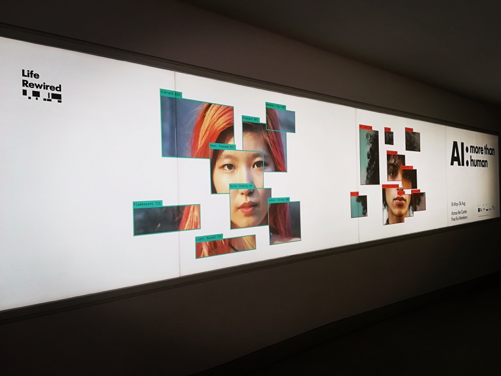 AI: More Than Human Exhibition @Barbican